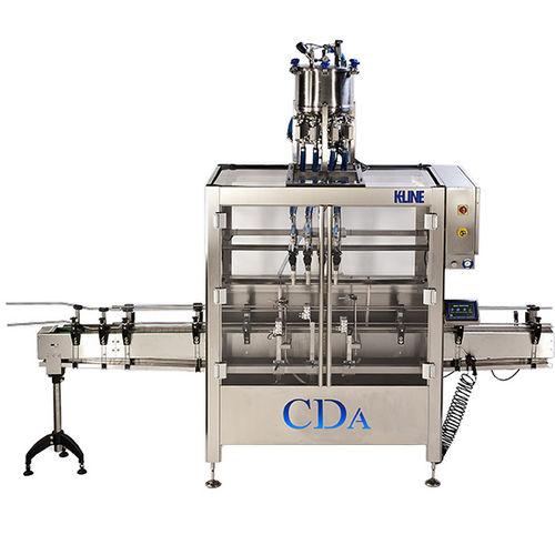 Abfüllmaschine für die Lebensmittelindustrie / für die Pharmaindustrie / für teigige Produkte / für viskose Produkte