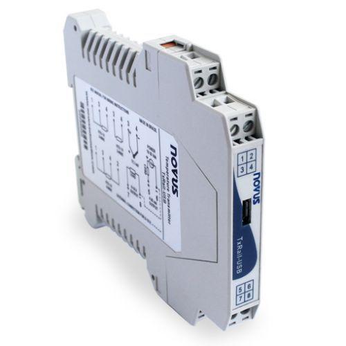 Temperaturmessumformer für DIN-Schienen / Pt100 / Pt1000 / Thermoelement