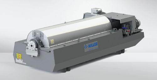 Zentrifugal-Dekanter / horizontal / für die Schlammentwässerung / Abwasser DP664, DP764 Hiller GmbH