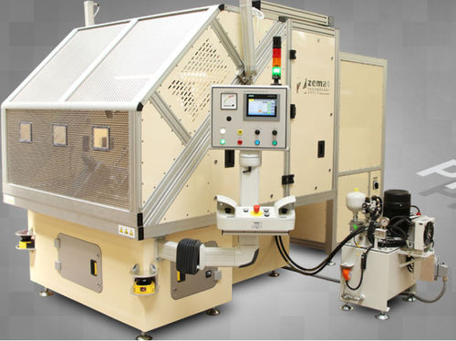 Umformmaschine für Isolierring / Pressspan