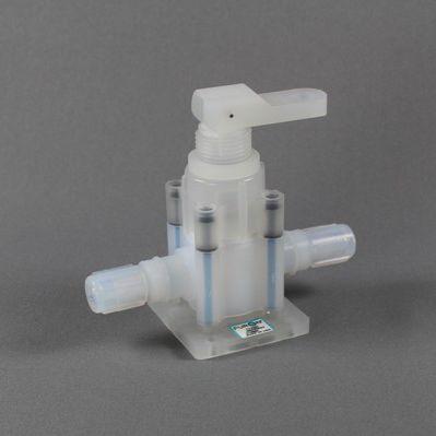 Membranventil / pneumatisch gesteuert / robust / PTFE