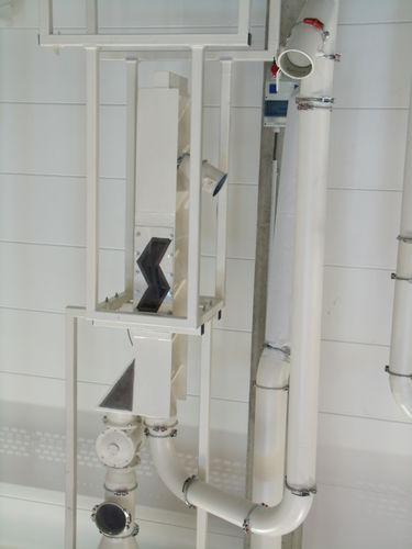 Druckluft-Abscheider / Partikel / Granulat / für Schüttgut