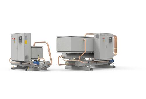 Wasserrückkühler / für Schraubenkompressor / hochleistungsfähig