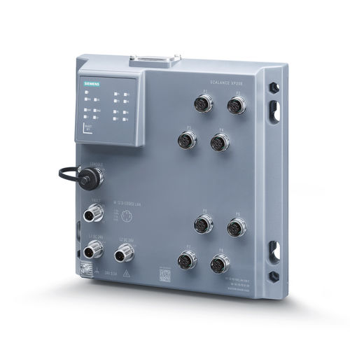 Ethernet-Switch / managed - Siemens Industrial Communication