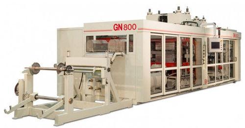 Rollen-Thermoformmaschine / für Lebensmittelverpackung / für medizinische Verpackung / automatisch