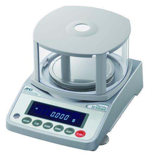 Präzisionswaage / mit LED-Anzeige / wasserdicht 122 - 3 200 g, 0.001 - 0.01 g, IP65 | FZ-iWP/FX-iWP series A&D COMPANY, LIMITED
