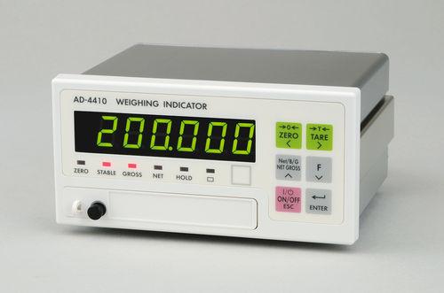 Digitaler Wägeindikator / DIN-Schienen / schwingungsresistenter AD-4410 A&D COMPANY, LIMITED