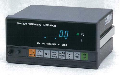 Digitaler Wägeindikator / DIN-Schienen / wasserdicht RS232C | AD4329 A&D COMPANY, LIMITED