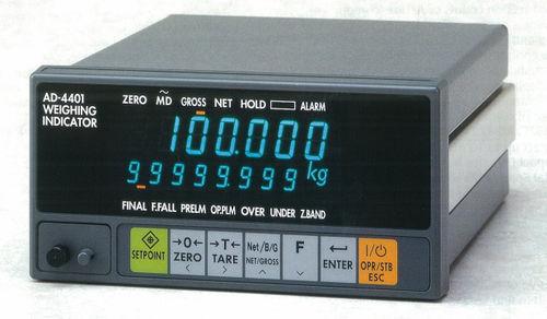Wasserdichter Wägeindikator/Controller / für Einbau RS-232C, RS-422/485 | AD4401  A&D COMPANY, LIMITED