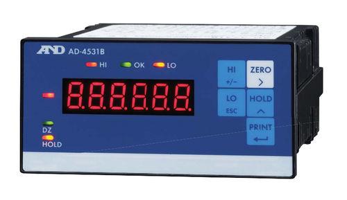 Ladungsanzeiger / digital / tragbar / für Dehnungsmessstreifen max. 7 mV/V | AD-4531B A&D COMPANY, LIMITED