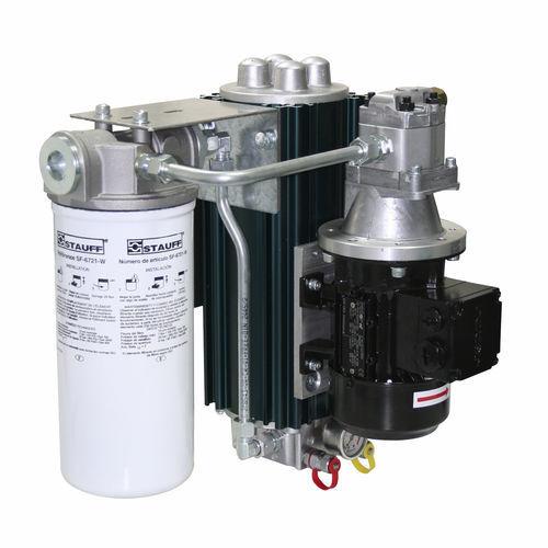 adsorbierende Filteranlage / Staub / für Öl