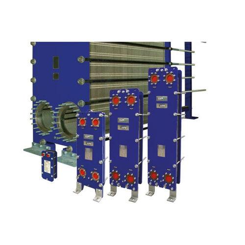 geschraubter Platten Wärmetauscher / flüssig/flüssig / für Industrieanwendungen