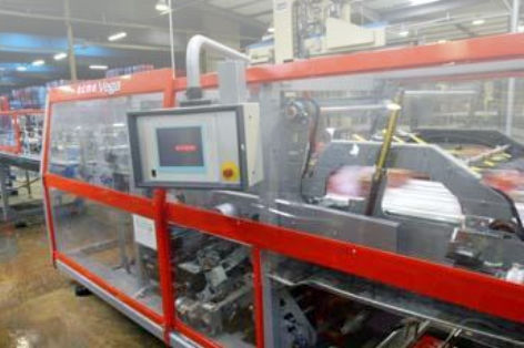 Automatische Schrumpffolienverpackungsmaschine / Karton / für Schalen / für Flaschen Vega S series OCME