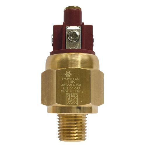 Membrandruckschalter / einstellbarer Kolben / Edelstahl / IP65
