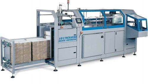 Klebeband-Kartonaufrichter / hohe Drehzahl 20 - 55 p/min | 450 A-B-C Packaging
