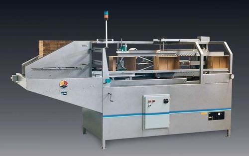 Automatischer Kartonaufrichter / Klebeband 5 - 15 p/min | 212T A-B-C Packaging