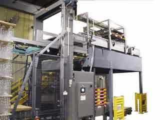 Oben-Entpalettierer 108 A-B-C Packaging