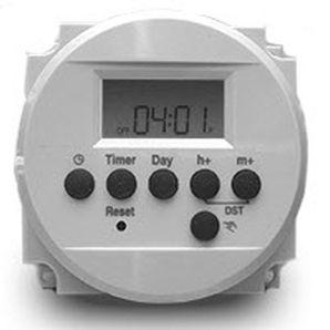 Digitales Timer / elektronisch / programmierbar / achtstellig