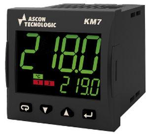 LED-Doppelanzeige-Temperaturcontroller / programmierbar / IP65