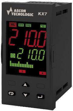 LED-Doppelanzeige-Temperaturcontroller / PID / programmierbar / IP54
