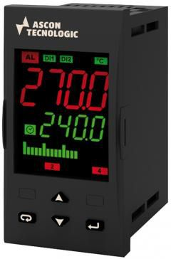 digitaler Temperaturregler / LED-Doppelanzeige / programmierbar