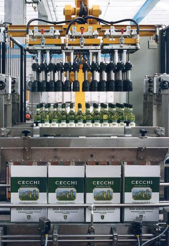 Kartonpacker Entpacker / Toplader / automatisch / Flaschen / für die Lebensmittel- und Getränkeindustrie