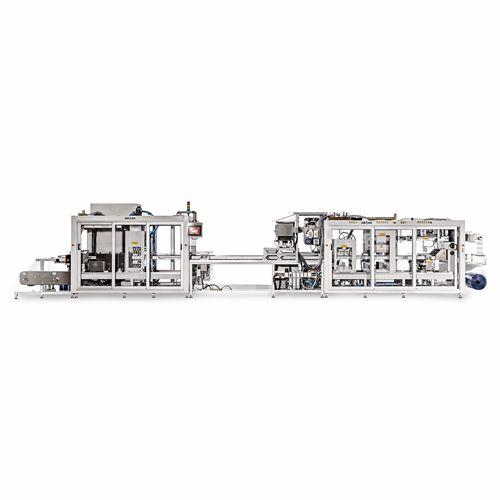 automatische Verpackungsmaschine / Blister / für die medizinische Industrie / für die Pharmaindustrie