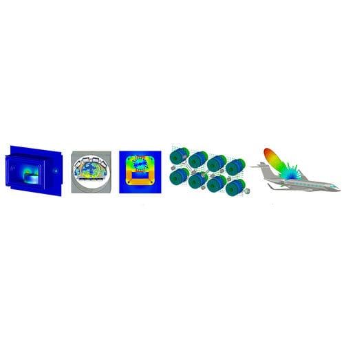 Software zur elektromagnetischen Simul / für virtuelles Prototyping
