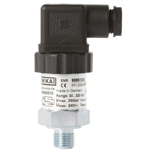 Druckschalter für Gas / Kolben / für Hydraulikanwendungen / OEM