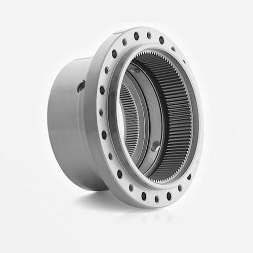 Kegel Getriebe / schrägverzahnt / Präzision / Innen