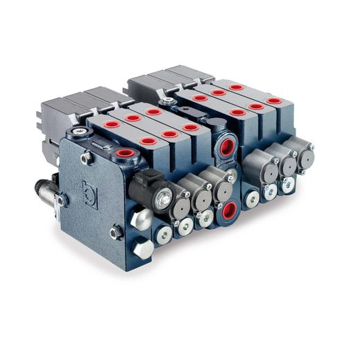 elektro-hydraulisches Hydraulik-Wegeventil / kompakt / modular