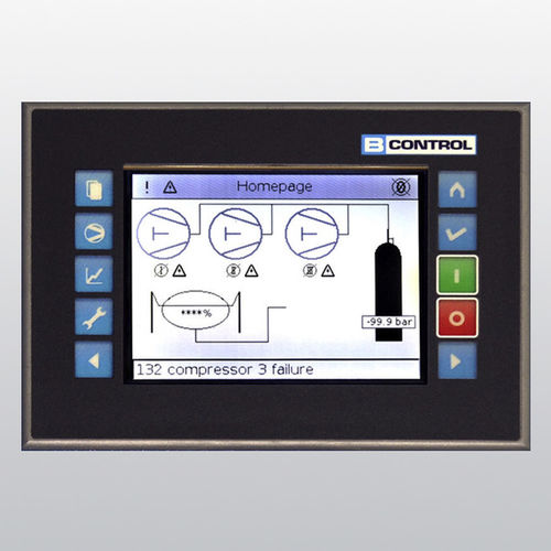 TFT-Display / Touchscreen / eingebaut / PROFIBUS