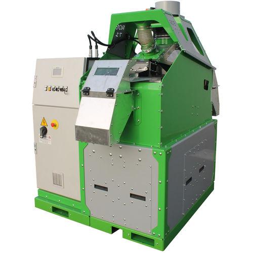 Vibrationsabscheider / Granulat / Kabel / für die Recyclingindustrie