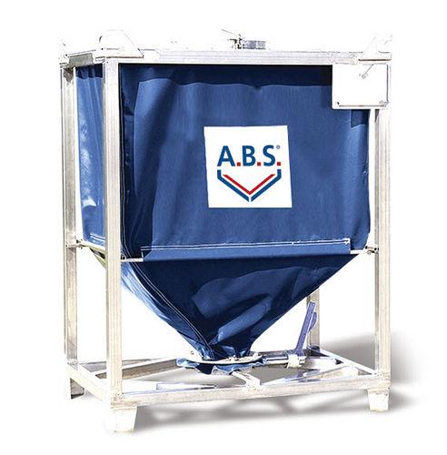 Flexibler Silo / Polyester / Stahl A.B.S. Silo- und Förderanlagen