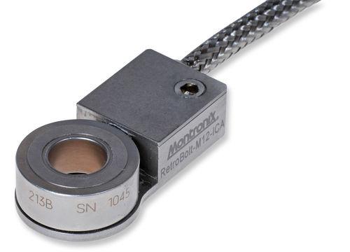 Kraftsensor / Zug- und Druckkraft / mit Ausgangsverstärker / kompakt / piezoelektrisch