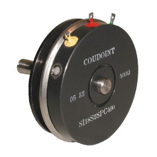 drehbarer Potentiometer / manuell / Präzision / drahtgewickelt