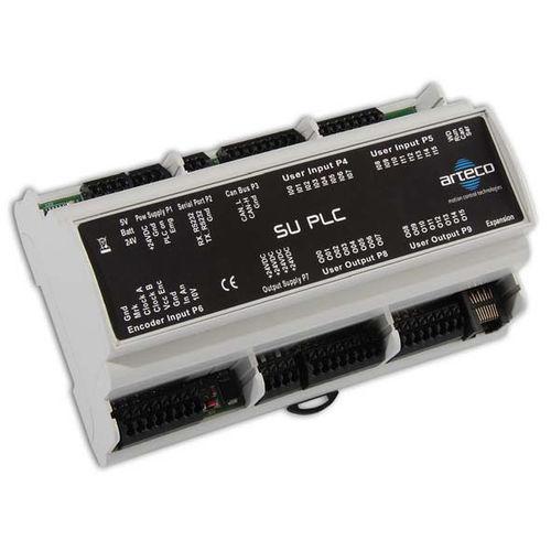 DIN-Schiene-SPS / Digitaleingänge / Digitalausgänge / mit integriertem E/A