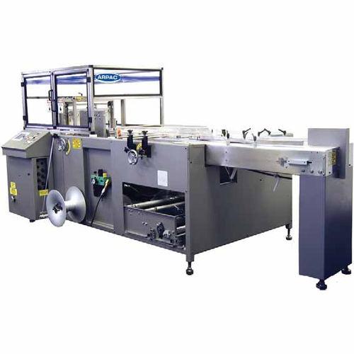 Schrumpffolienverpackungsmaschine / horizontal / kontinuierlicher Betrieb / für Multipack