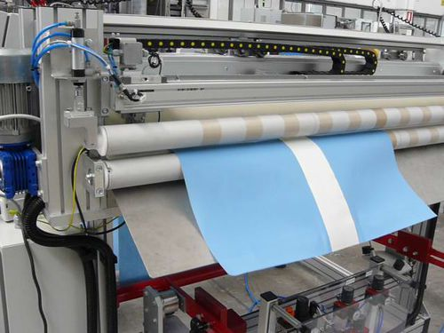 Schneidmaschine für Gewebe / Cutter / CNC / automatisch A UNO TEC