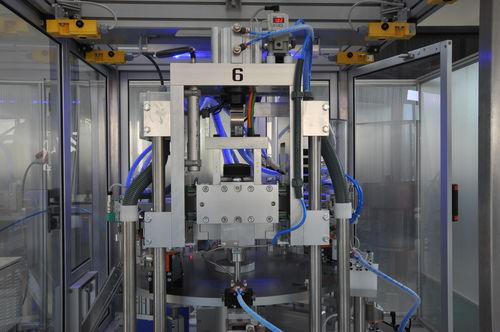 Automatische Montagemaschine / zur industriellen Anwendung / Drehtisch A UNO TEC