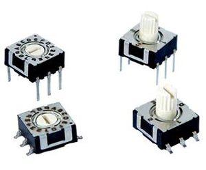 Drehschalter / mehrpolig / Miniatur / elektromechanisch