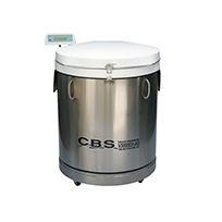 Becken für Flüssigkeiten / Stickstoff / Edelstahl / Speicher