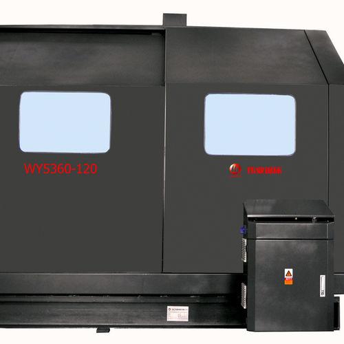 Bandsäge / für Aluminium / Hochgeschwindigkeit WY5360-120 Zhejiang Weiye Sawing Machine Co., Ltd