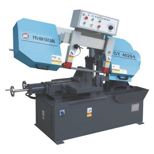 Bandsäge / für Metall / für Kunststoff / für Stahl CE 220Hx400W GY4028-I Zhejiang Weiye Sawing Machine Co., Ltd