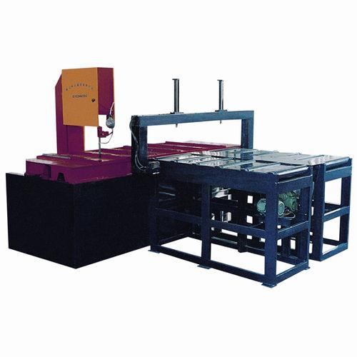 Bandsäge / mit Kühlsystem / mit variabler Geschwindigkeit / mit automatischer Zuführung CE 400H x 600W x 2500L GY5340 Zhejiang Weiye Sawing Machine Co., Ltd