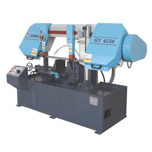 Bandsäge / für Rohre / mit Kühlsystem / mit Rollenförderband CE 300Hx500W GY4230 Zhejiang Weiye Sawing Machine Co., Ltd