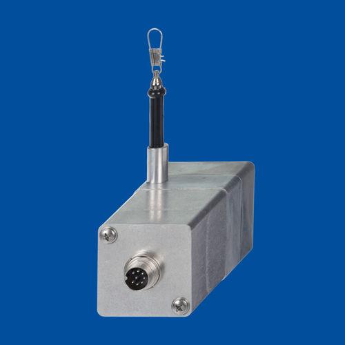 Seilzug-Positionssensor / Potentiometer / mit SSI-Schnittstelle / CANopen