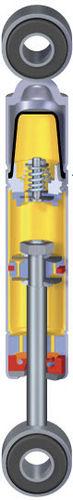 Vibrationsdämpfer / hydraulisch / für Motoren