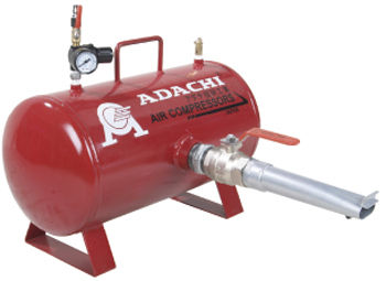 Behälter für Druckluft / Metall / Lager / horizontal ATT 20 A.D.I ATACHI CORPORATION SDN BH