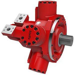 Hydraulik Motor / Radialkolben / variable Hubräume / mit niedriger Drehzahl / mit hohem Drehmoment HMF series Kawasaki Precision Machinery
